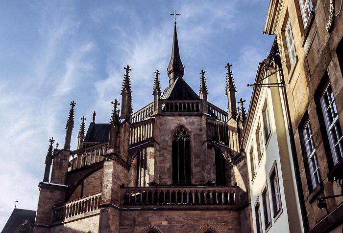 Osnabrück Marienkirche: Chor mit filigranem Strebewerk