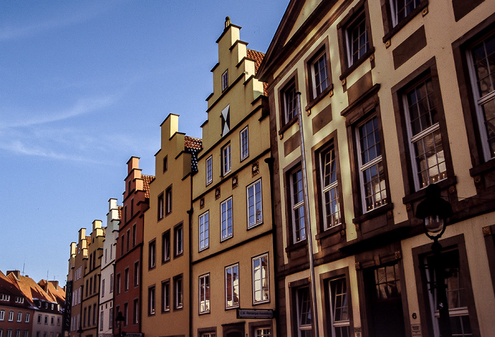 Osnabrück Bürgerhäuser am Markt Marktplatz