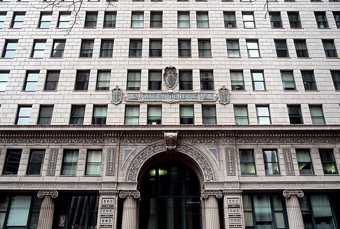 San Francisco Pacific Gas and Electric Comapny Headquarters (Matson Building) Pacific Gas and Electric Company Headquarters