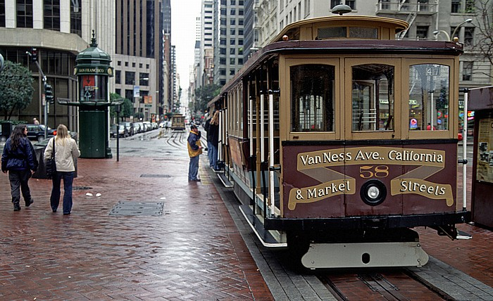 Powell St Cable Car Turnaround San Francisco