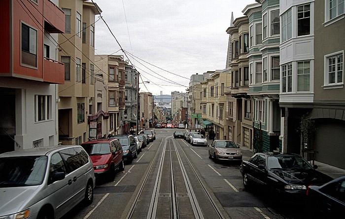 San Francisco Cable Car San Francisco-Oakland Bay Bridge