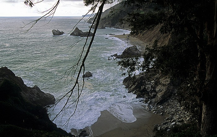 Pazifikküste Julia Pfeiffer Burns State Park