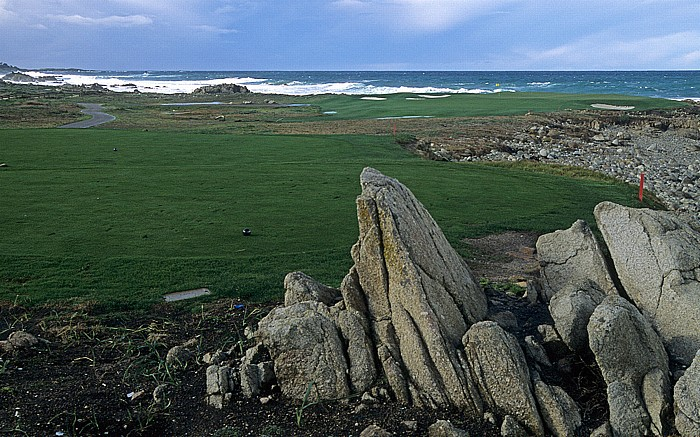 17-Mile Drive: Spyglass Hill Golf Course Monterey Peninsula