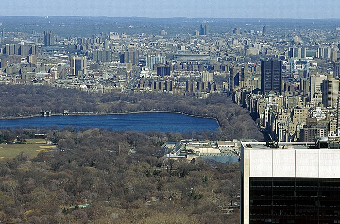 New York Blick vom Rockefeller Center Top Of The Rock Bronx Central Park Harlem Jacqueline Kennedy Onassis Reservoir Metropolitan Museum of Art The Great Lawn Upper East Side Yankee Stadium