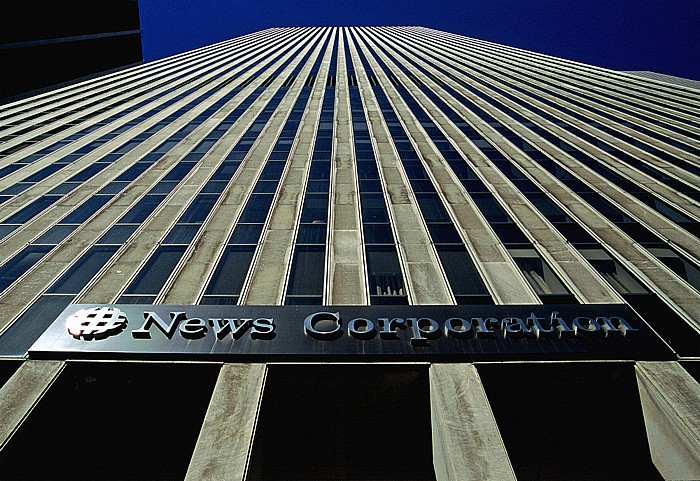 New York City News Corporation Headquarters 1211 Avenue of the Americas (News Corp. Building)