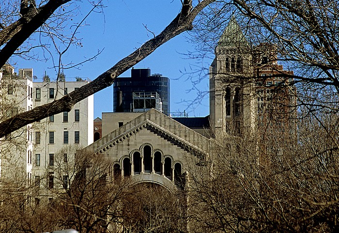 New York City Central Park, Temple Emanu-El