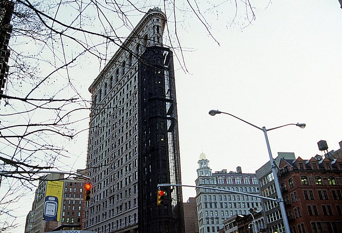 New York City Flatiron Building Broadway Fifth Avenue