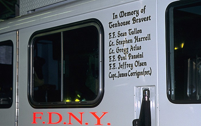 New York FDNY Ten House