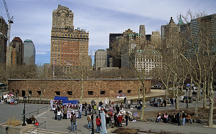 New York Battery Park: Castle Clinton