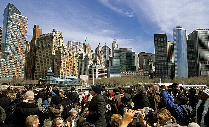 New York City Fähre Circle Line: Manhattan Downtown und Battery Park