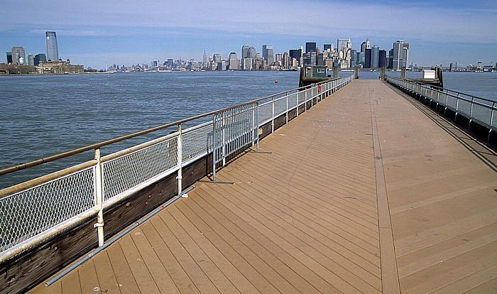 New York Liberty Island Brooklyn East River Hudson River Manhattan Upper Bay