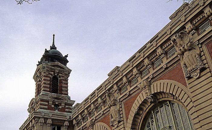 New York Ellis Island: Hauptgebäude