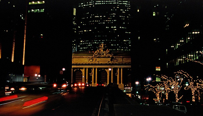 Park Avenue, Grand Central Terminal New York City