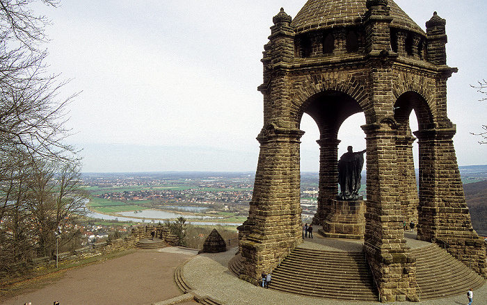 Porta Westfalica Kaiser-Wilhelm-Denkmal