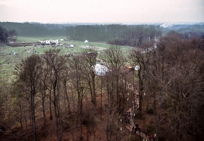 Kalkriese Blick vom Museum Museum und Park Kalkriese