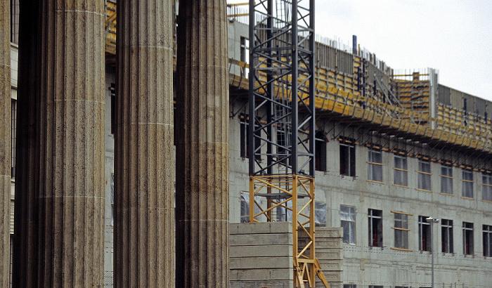 Berlin Brandenburger Tor, Neubau der US-amerikanischen Botschaft US-amerikanische Botschaft