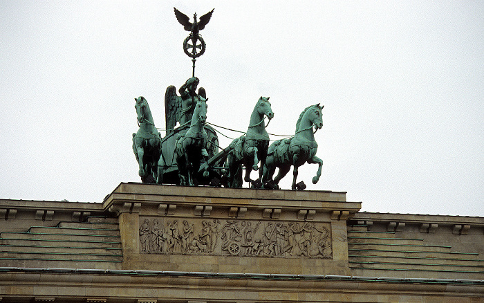Brandenburger Tor: Quadriga Berlin 2006