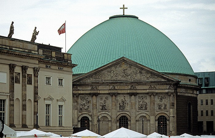 Berlin Mitte: St.-Hedwigs-Kathedrale