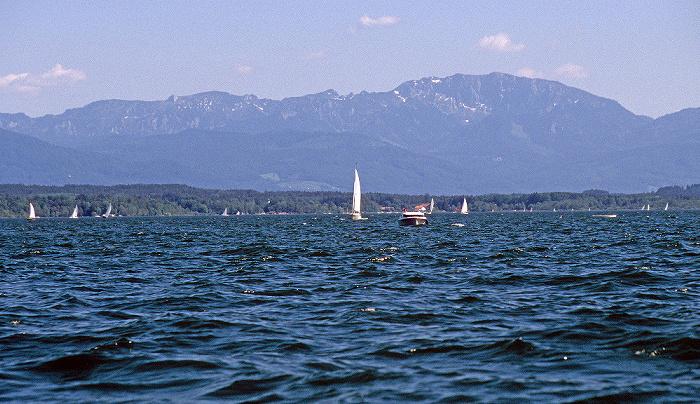 Starnberger See Südende