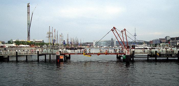 Kiel Hafen, Hörnbrücke Fernsehturm