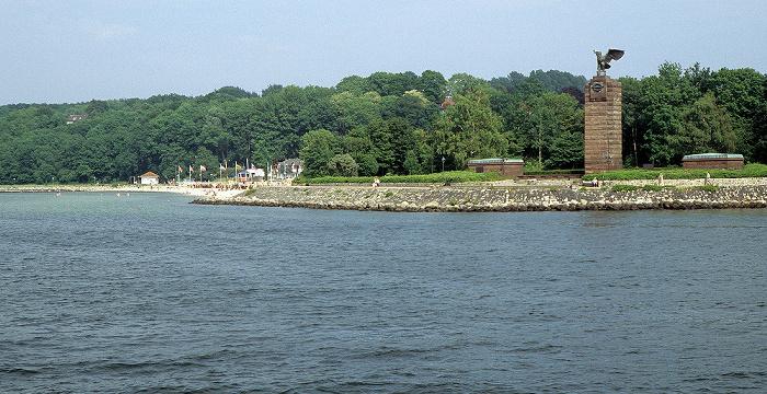 Kieler Förde U-Boot-Ehrenmal Möltenort in Heikendorf