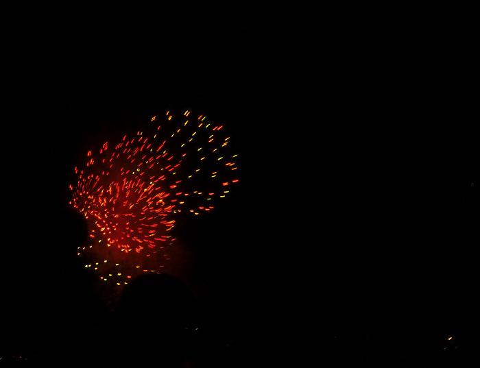 Kieler Woche: Feuerwerk
