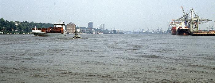 Elbe, Hafen Hamburg