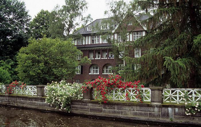 Hamburg Haus an der Alster