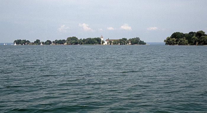 Chiemsee Fraueninsel (Frauenchiemsee) und Krautinsel