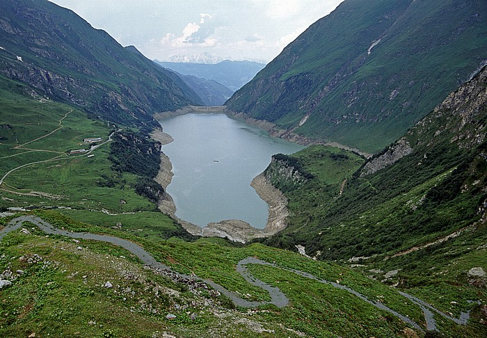 Kapruner Tal Stausee Wasserfallboden Limberg-Staumauer