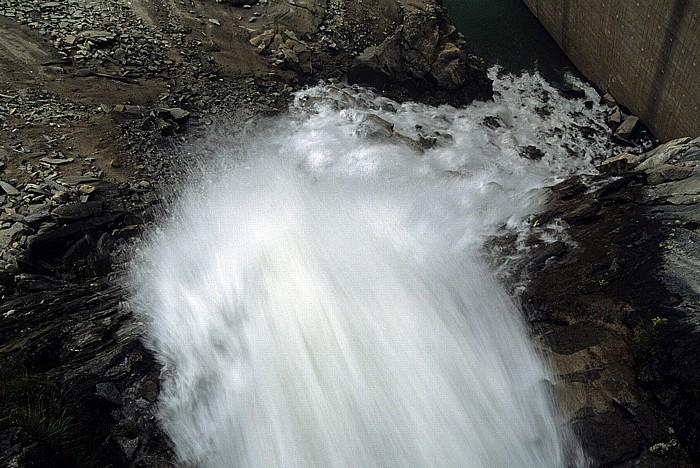 Kapruner Tal Zufluss zum Stausee Mooserboden