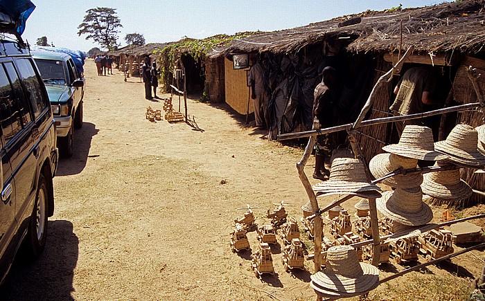 Senga Bay Verkaufsstände