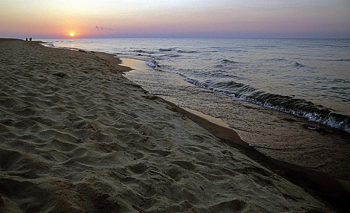 Kande Beach Malawisee: Sonnenaufgang