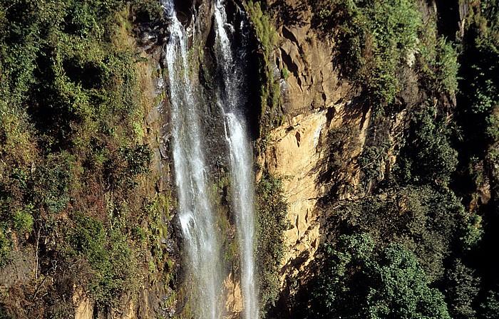 Livingstonia Manchewe-Fälle Wasserfall