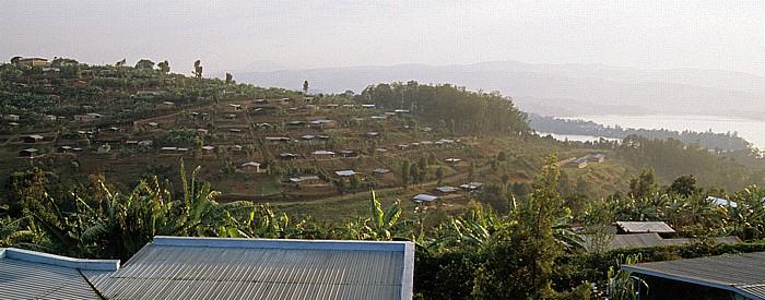 Cyangugu Blick aus dem Ten-To-Ten Paradise Hotel