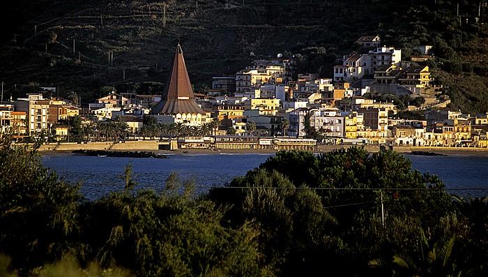 Giardini-Naxos Blick vom Hotel Nike