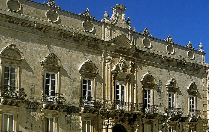 Syrakus Altstadt: Palazzo Beneventano del Bosco