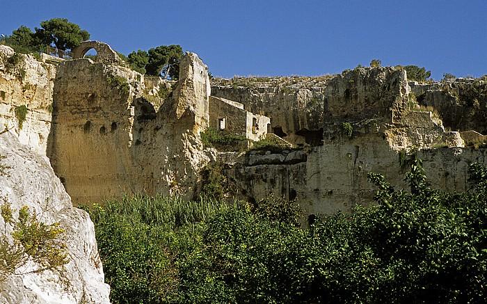 Syrakus Parco Archeologico della Neapoli: Latomía del Paradiso (Steinbrüche)