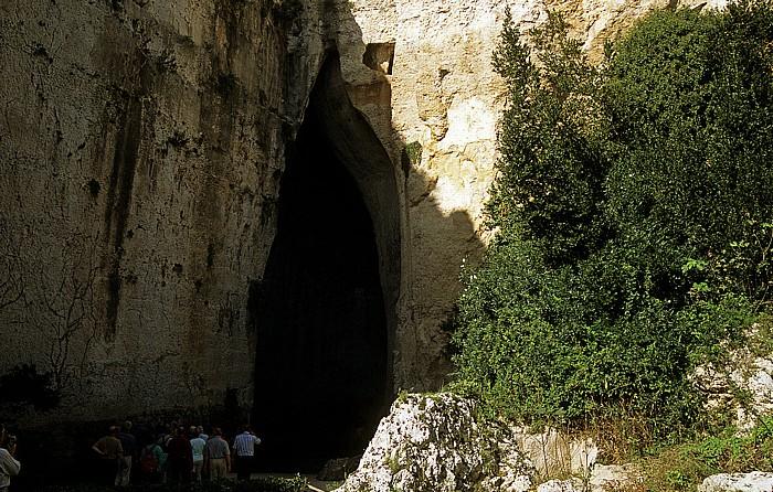 Syrakus Parco Archeologico della Neapoli: Grotte Ohr des Dionysos