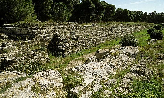Syrakus Parco Archeologico della Neapoli: Altar des Hieron II.