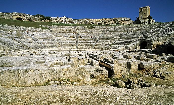 Syrakus Parco Archeologico della Neapoli: Griechisches Theater