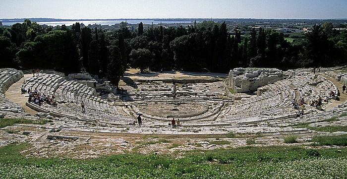 Parco Archeologico della Neapoli: Griechisches Theater Syrakus