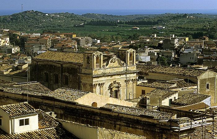 Noto Blick vom Capanile von Chiesa S. Carlo