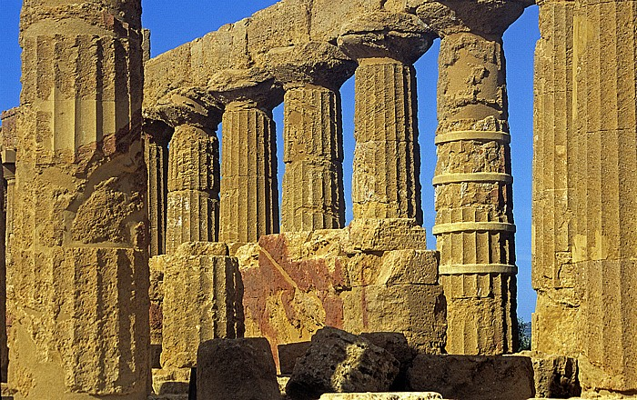 Agrigent Tal der Tempel: Tempel der Hera