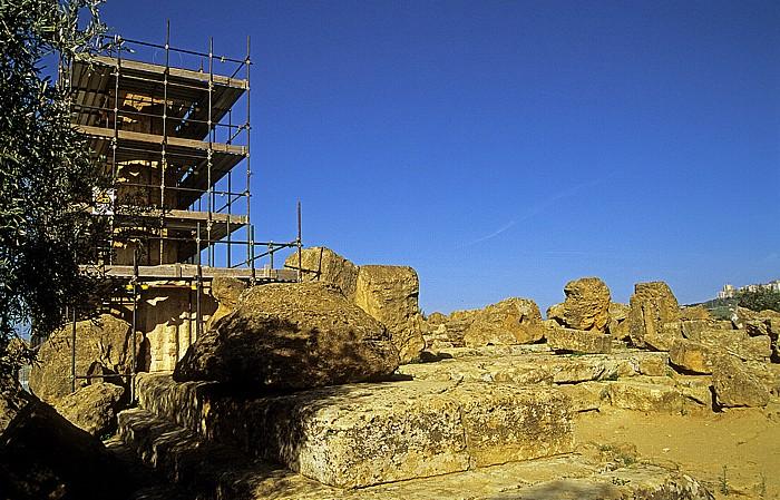 Agrigent Tal der Tempel: Tempel des Herakles