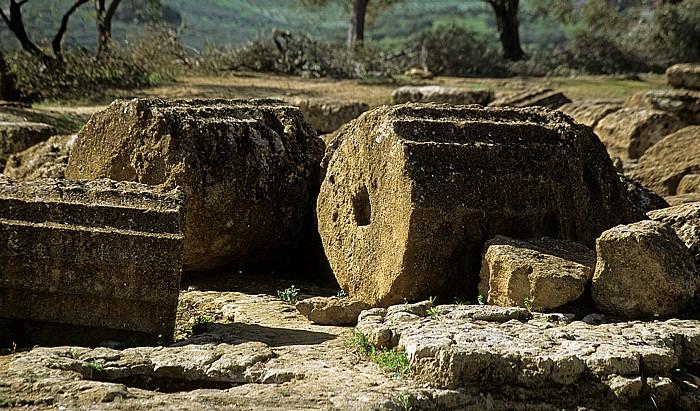 Agrigent Tal der Tempel: Tempel des Olympischen Zeus (Olympieion)
