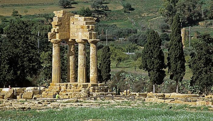 Agrigent Tal der Tempel: Dioskuren-Tempel