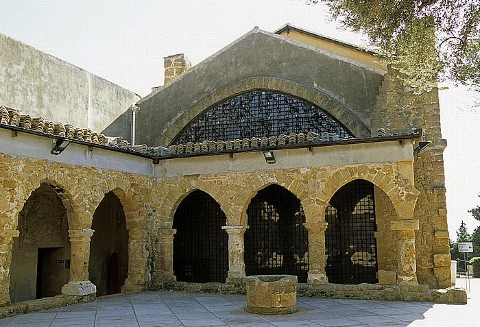 Agrigent Innenhof des Archäologischen Museums Archäologisches Museum