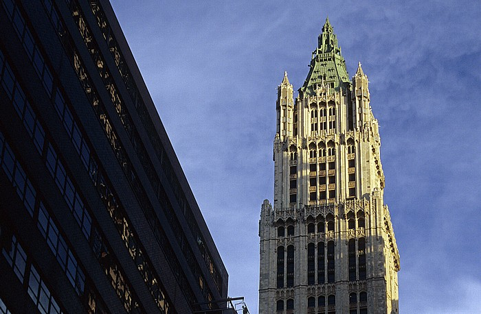 New York Woolworth Building