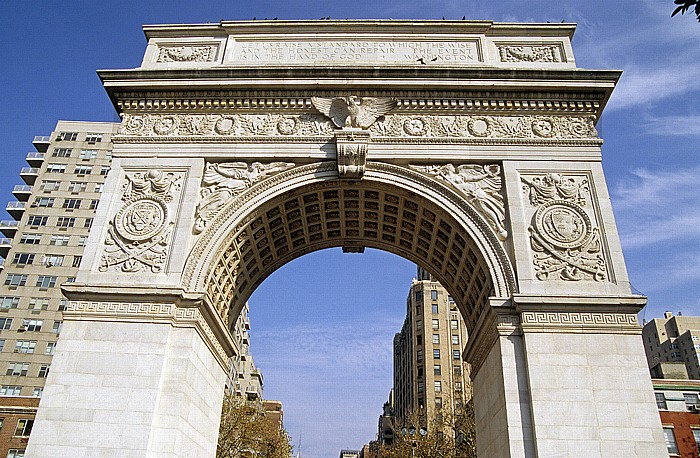 New York Greenwich Village: Washington Arch Fifth Avenue
